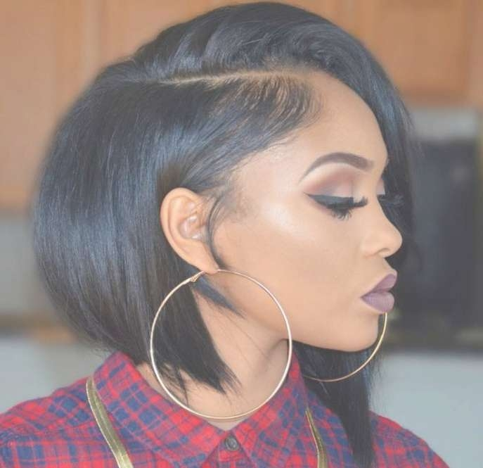 Women Hairstyles : Curly Bob Hairstyles Black Woman Bob Hairstyles For Most Recently Medium Hairstyles For Black Woman (View 21 of 25)