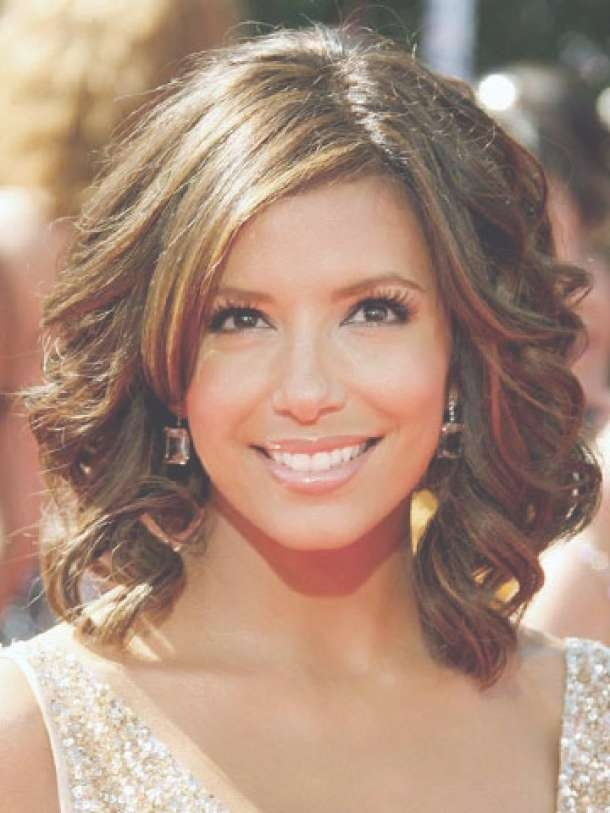 Women's Hairstyles: Cute Medium Length Wavy Hairstyles, Wavy Within Most Current Curly Hair Medium Hairstyles (View 23 of 25)