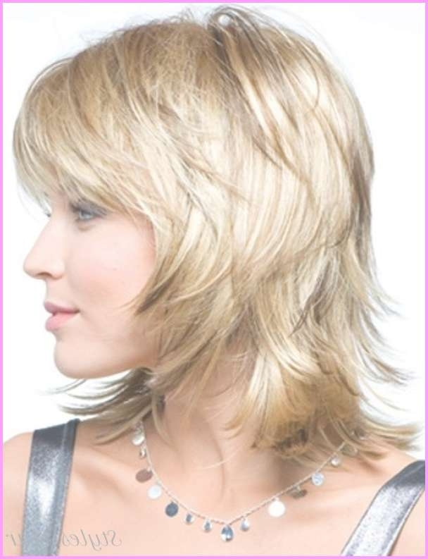 Womens Medium Haircuts For Fine Hair – Stylesstar ® With 2018 Medium Hairstyles For Fine Hair (View 23 of 25)