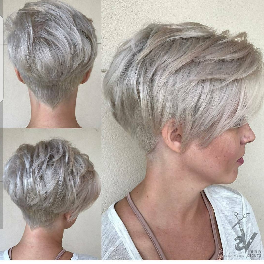 10 Easy Pixie Haircut Styles & Color Ideas, 2018 Women Short With Best And Newest Easy Pixie Hairstyles (View 4 of 15)