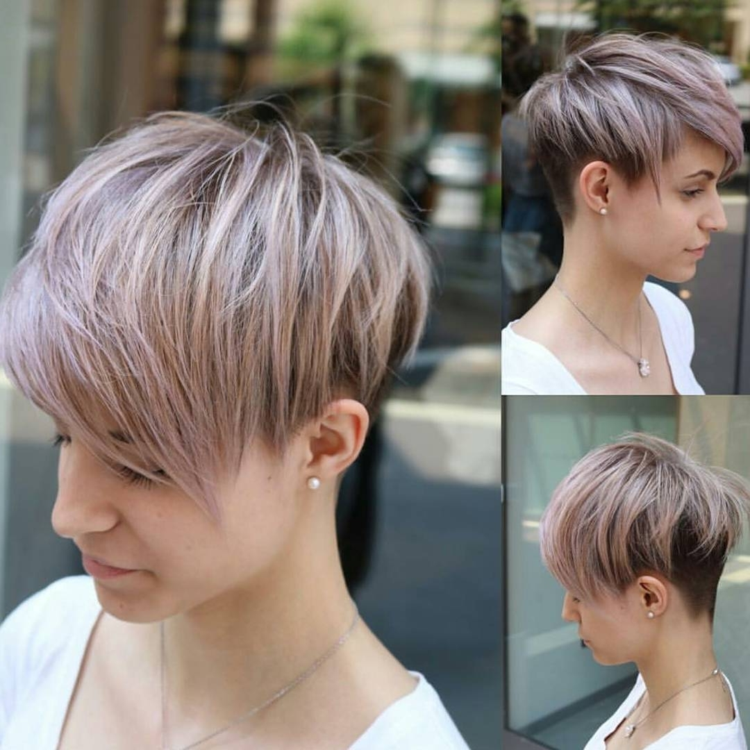 10 Easy Pixie Haircut Styles & Color Ideas, 2018 Women Short With Regard To Best And Newest Pixie Hairstyles Colors (View 10 of 15)