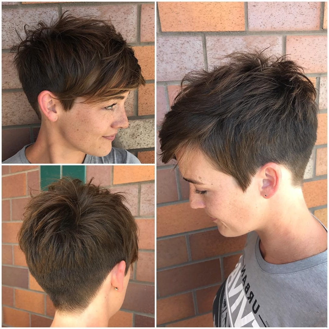 10 Peppy Pixie Cuts – Boy Cuts & Girlie Cuts To Inspire, 2018 With Current Brunette Pixie Hairstyles (View 15 of 15)