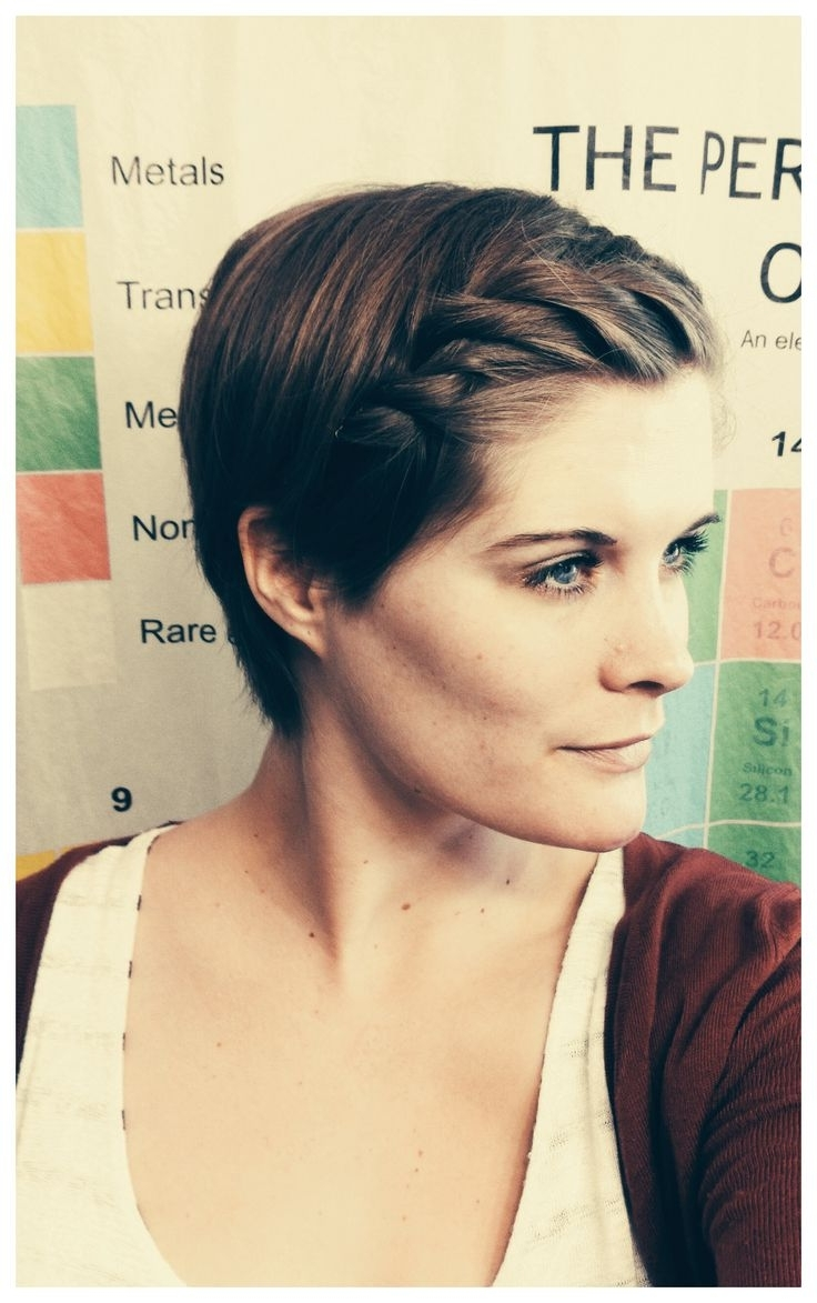 12 Best Chronicles Of A Pixie Cut Images On Pinterest   Feminine In Recent Thick Pixie Hairstyles (View 3 of 15)