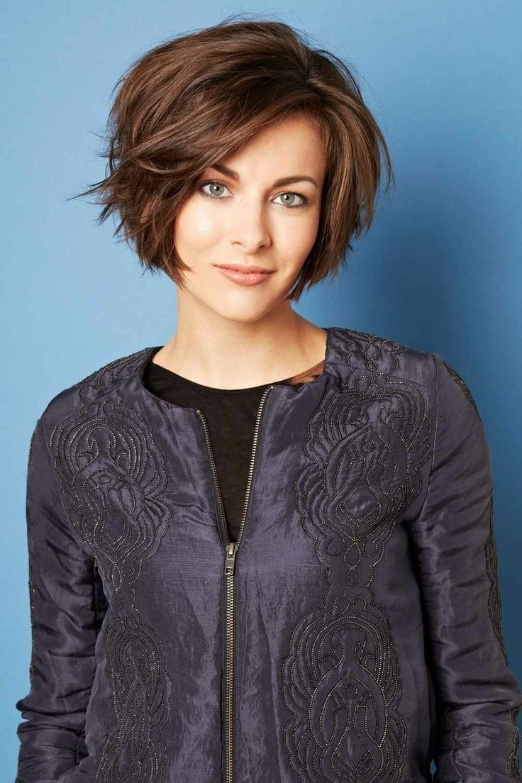 12 Cute Hairstyles For Short Hair – Hairiz Inside Most Recently Line Pixie Hairstyles (View 9 of 15)