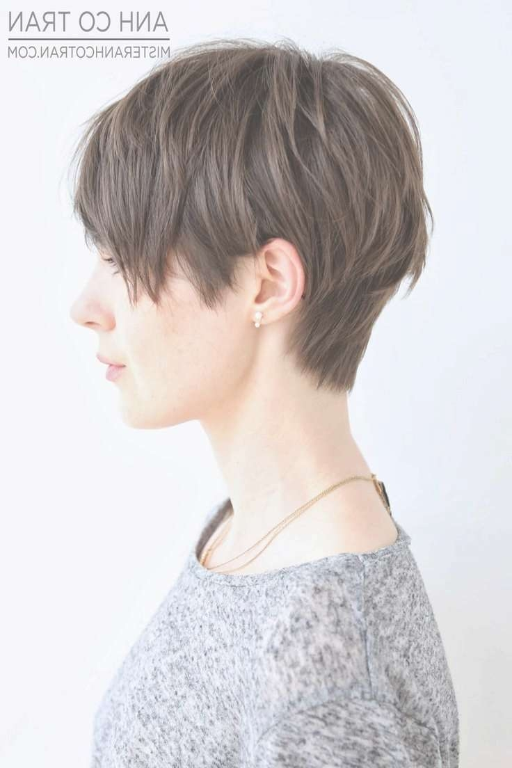 12 Super Cool Hairstyle Ideas For Women With Short Thick Hair In 2018 Blunt Pixie Hairstyles (View 16 of 16)