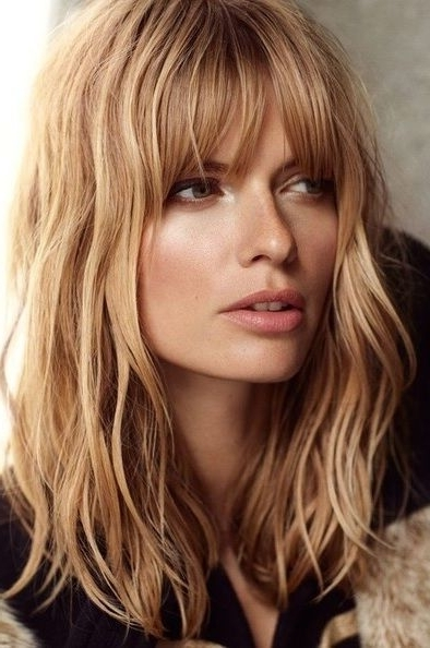 13 Amazing Shaggy Haircuts | Long Shaggy Hairstyles, Shaggy Within Current Long Shaggy Hairstyles With Bangs (View 2 of 15)