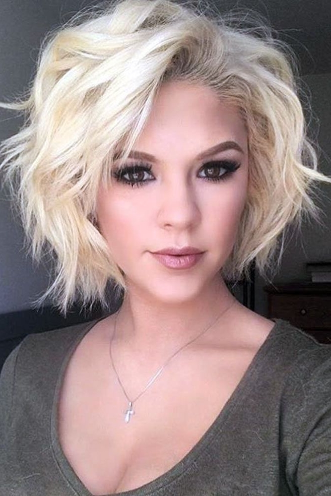 Gallery Of Shaggy Short Hairstyles For Long Faces View 12 Of 15 Photos