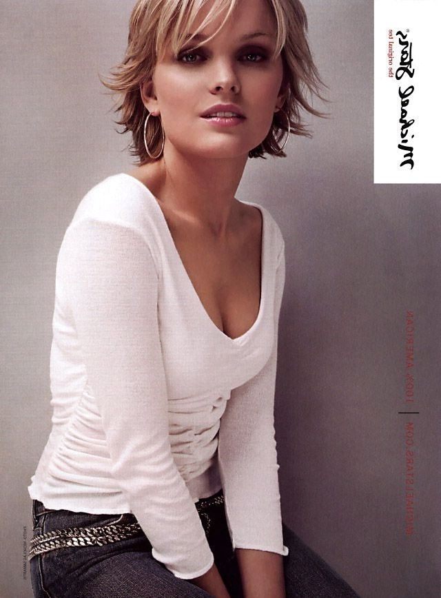 Explore Photos Of Short Shaggy Choppy Hairstyles Showing 15 Of 15