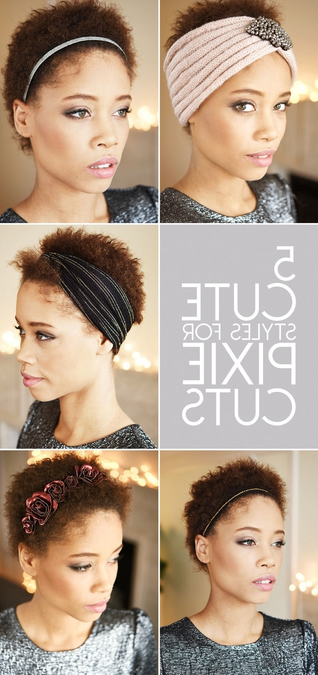 Featured Photo of Pixie Hairstyles Accessories