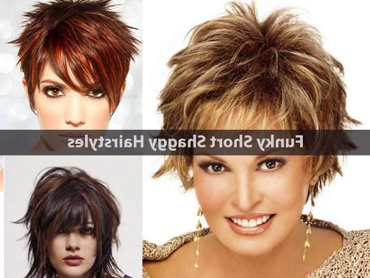 15 Funky Short Shaggy Hairstyles – Hairstyle For Women Within Most Popular Long Shaggy Pixie Hairstyles (View 5 of 15)
