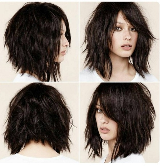 The best shaggy hairstyles for medium hair solutioingenieria Images