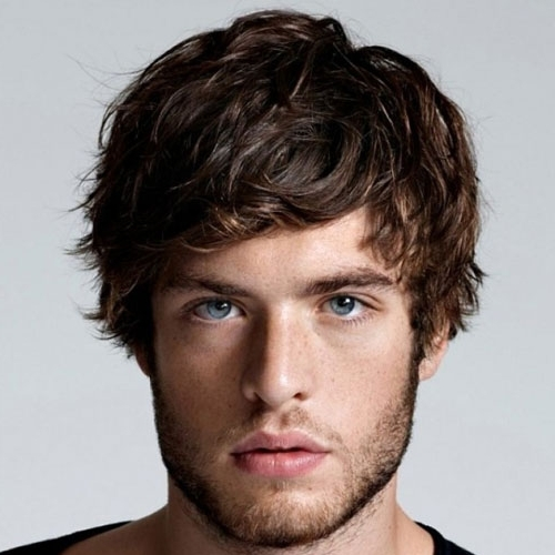 15 Shaggy Hairstyles For Men | Men's Hairstyles + Haircuts 2018 In Best And Newest Men's Shaggy Hairstyles (View 2 of 15)