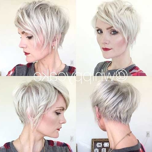 15 Best Shaggy Pixie Haircut For Round Face