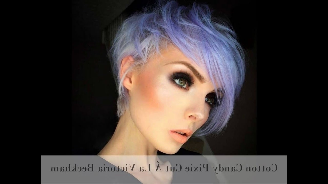 15 Short Hairstyles For Women Pixie, Bob, Undercut Hair – Youtube Pertaining To Recent Edgy Pixie Hairstyles (View 2 of 15)