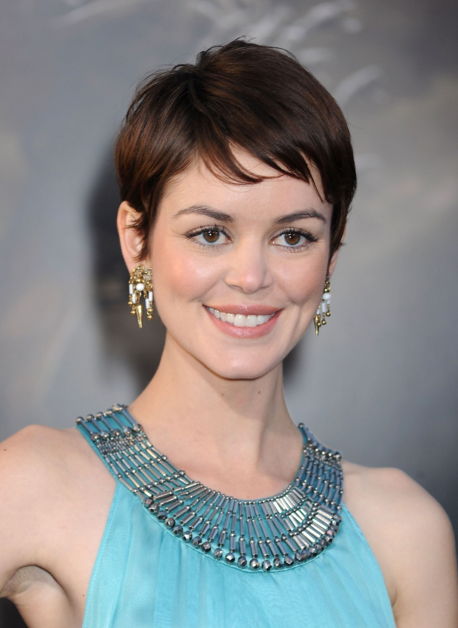 19 Cute Celebrity Haircuts To Consider   Glamour Intended For Most Recent Wavy Pixie Hairstyles (View 14 of 15)
