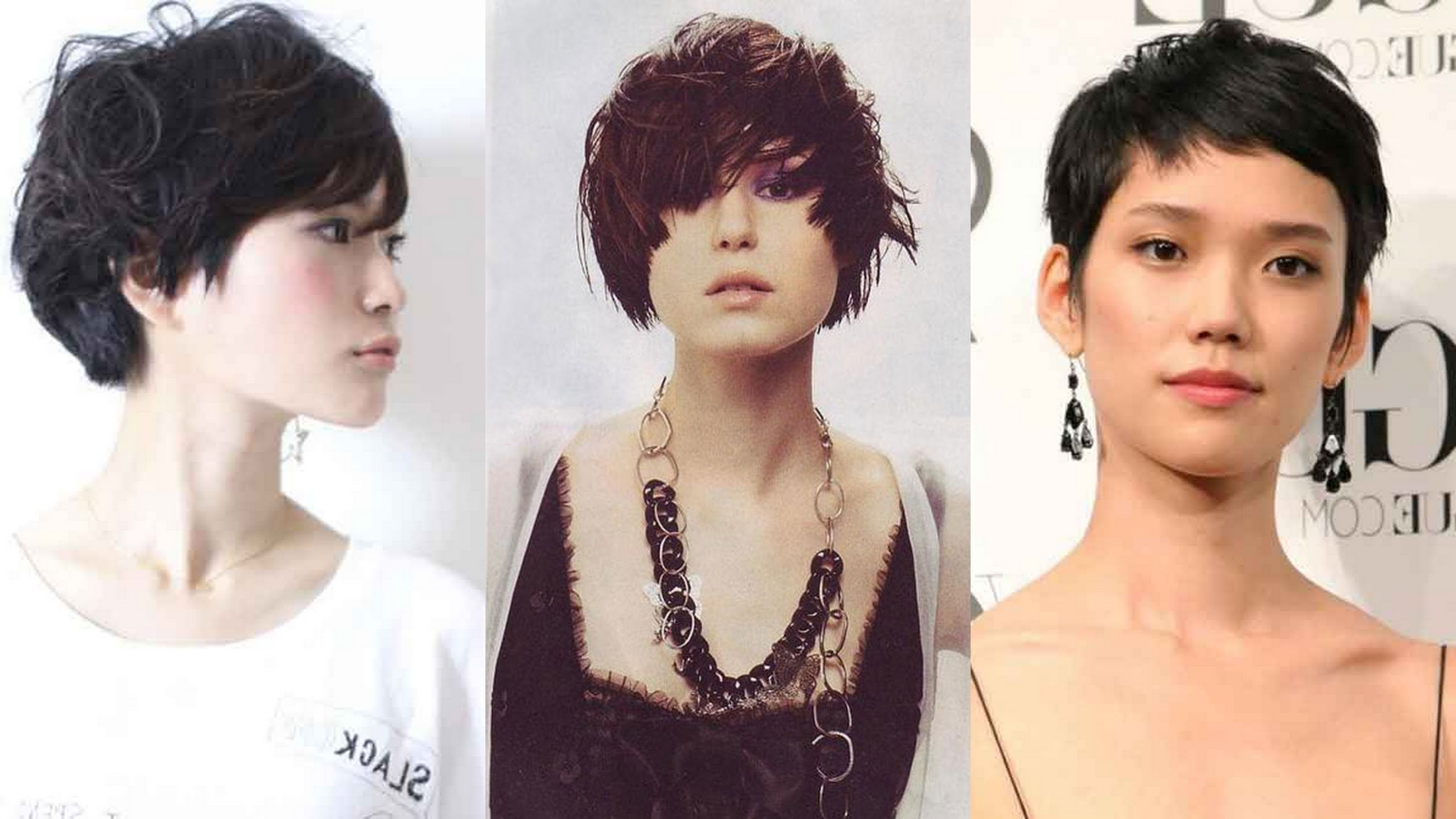 20 Best Asian Short Hairstyles For Women – Youtube Regarding Latest Pixie Hairstyles For Asian Round Face (View 3 of 15)