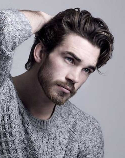 Photo Gallery of Mens Shaggy Hairstyles Thick Hair (Showing 2 of 15 ...