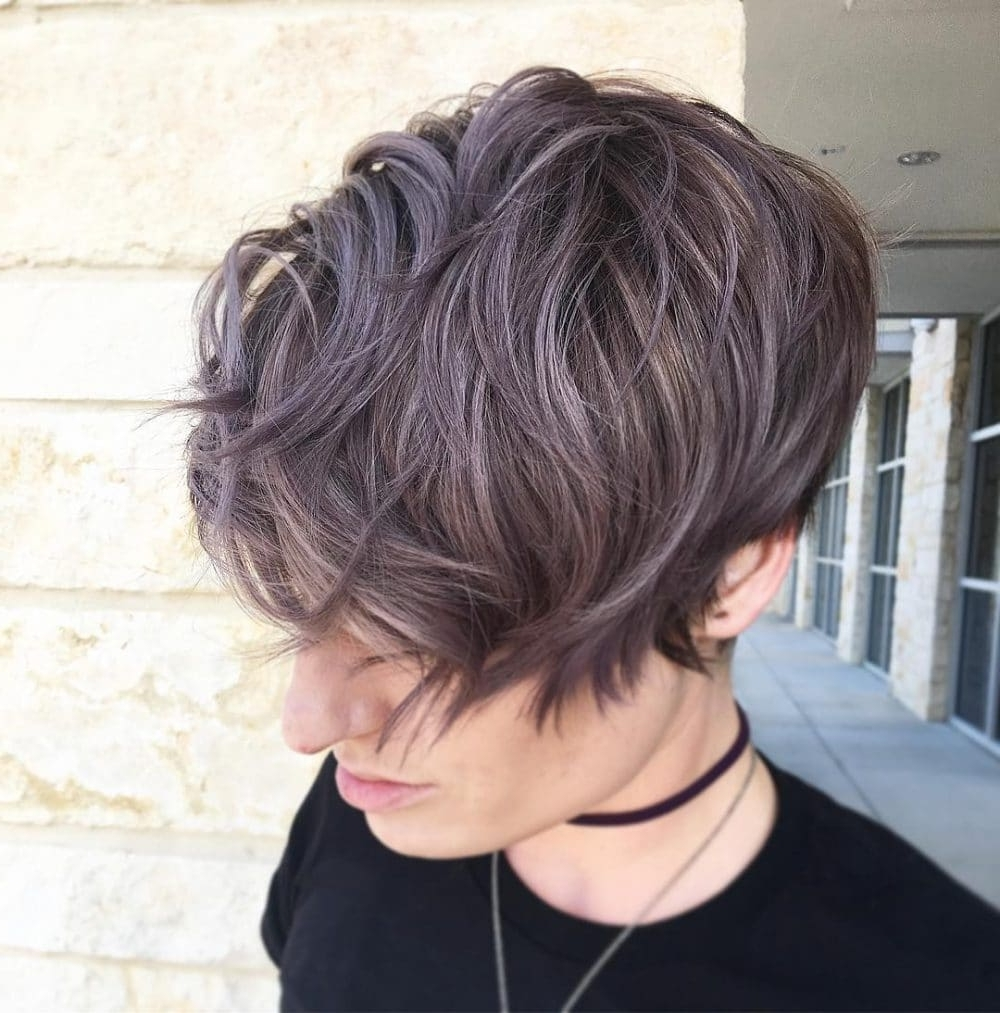 20 Hottest Short Wavy Hairstyles Right Now (Updated For 2018) Within Newest Pixie Hairstyles With Curly Hair (View 14 of 33)