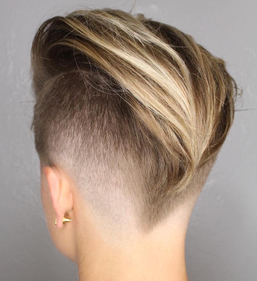 20 Inspiring Pixie Undercut Hairstyles Pertaining To Newest Edgy Pixie Hairstyles (View 3 of 15)