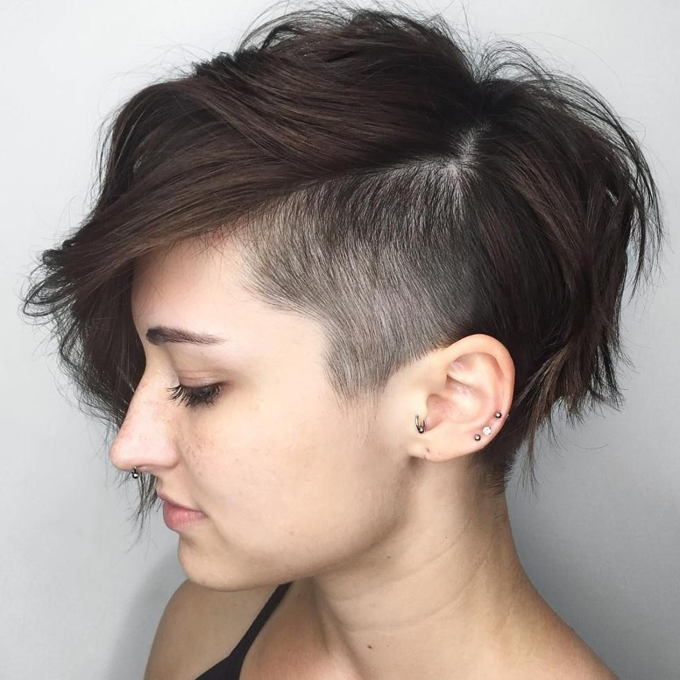 20 Inspiring Pixie Undercut Hairstyles | Undercut, Pixies And Within Recent Punk Pixie Hairstyles (View 9 of 15)