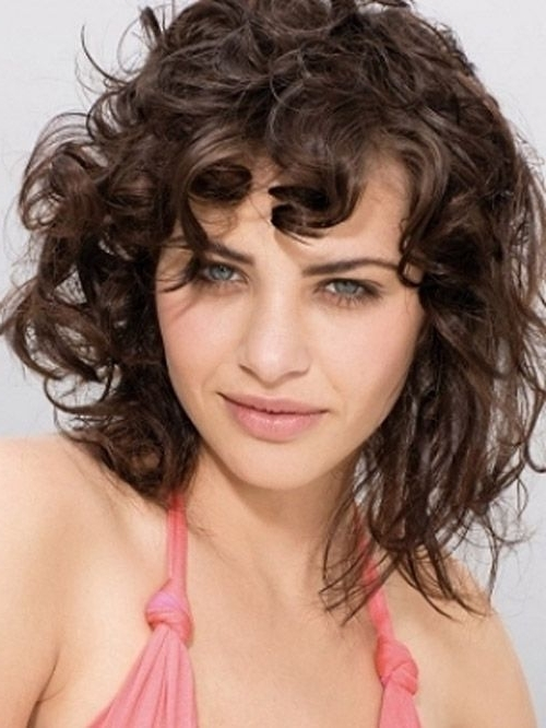 20 Shag Hairstyles For Women – Popular Shaggy Haircuts For 2018 Regarding Best And Newest Medium Shaggy Curly Hairstyles (View 11 of 15)