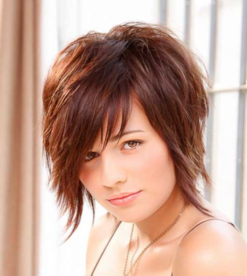 2015 Short Hairstyles Round Face Simple Styled Hairdo This Style Pertaining To Latest Pixie Hairstyles On Chubby Face (View 3 of 15)