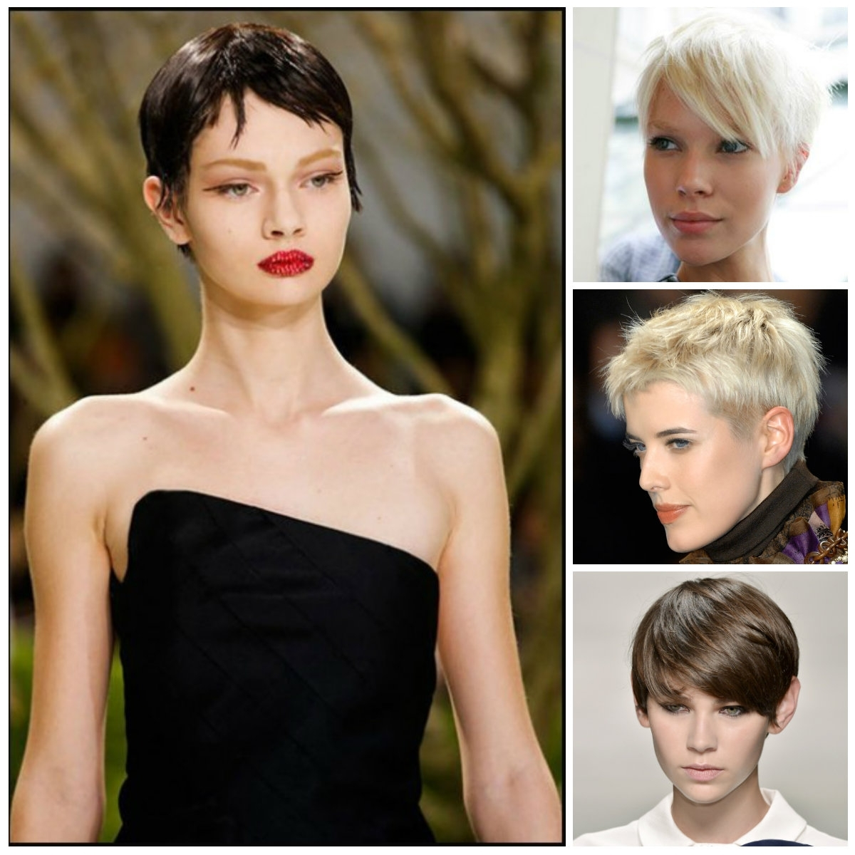 2016 Runway Inspired Hairstyle Ideas For Pixie Haircuts | Haircuts Inside Most Up To Date Modern Pixie Hairstyles (View 2 of 15)