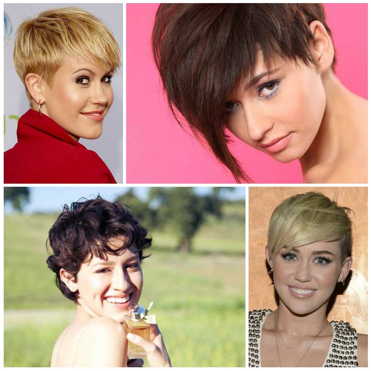 2016 Trendy Pixie Haircuts With Bangs   2017 Haircuts, Hairstyles Throughout Most Up To Date Pixie Hairstyles With Bangs (View 5 of 15)