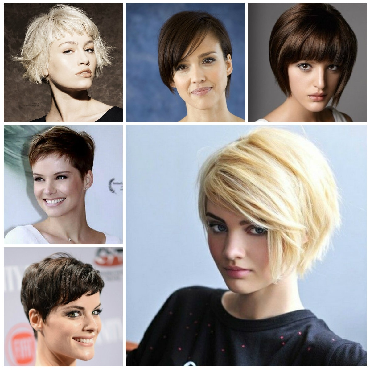 2016 Trendy Short Haircuts With Bangs | Haircuts, Hairstyles 2016 Pertaining To Best And Newest Pixie Hairstyles With Fringe (View 13 of 15)