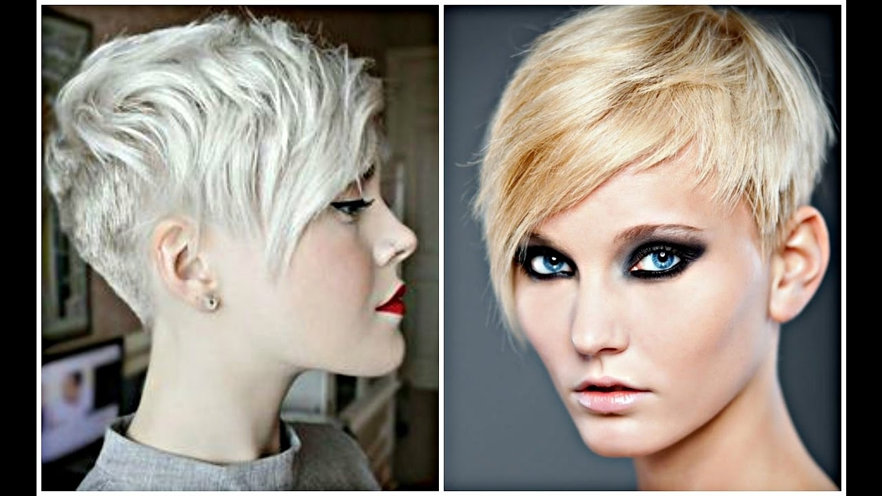 2017 Pixie Haircut Ideas – Youtube Throughout Most Recent Modern Pixie Hairstyles (View 8 of 15)