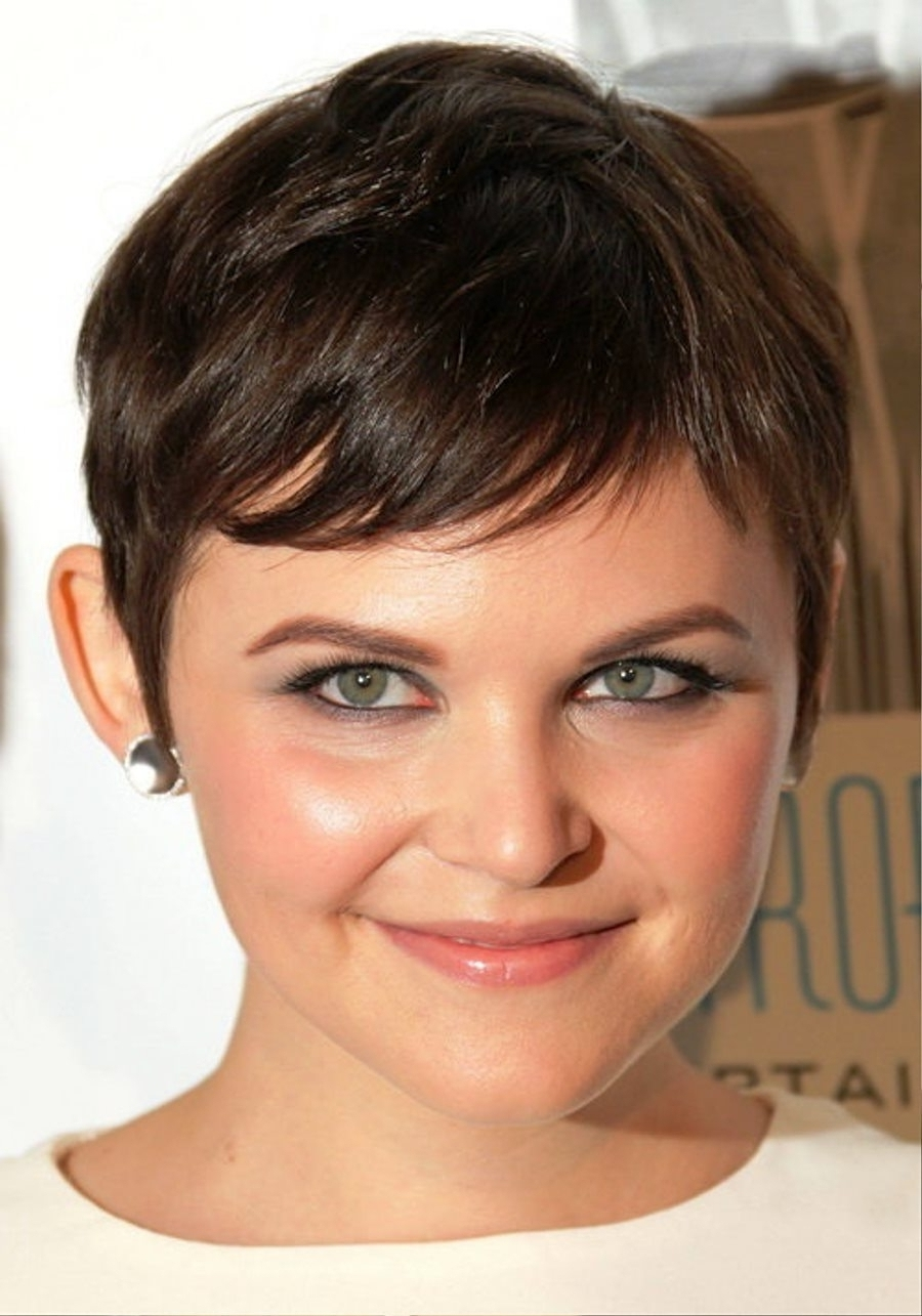 2017 Pixie Haircuts For Fat Faces Stylish Hairstyles For Round Inside 2018 Pixie Hairstyles For Round Faces (View 11 of 15)