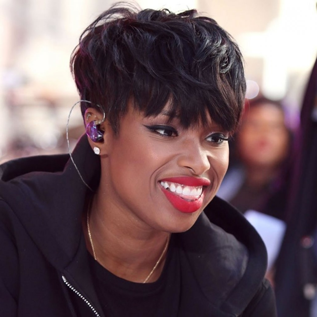 2018 Pixie Haircuts For Black Women – 26 Coolest Black Fine Hair Regarding Most Recently Pixie Hairstyles For Black Hair (View 2 of 15)