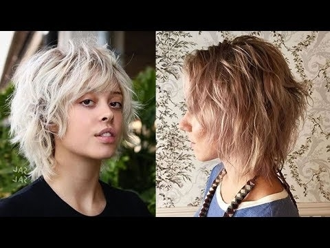 2018 Shag Haircuts For Fine Hair – Long, Medium And Short Shaggy Within Newest Shag Hairstyles For Thin Hair (View 6 of 15)