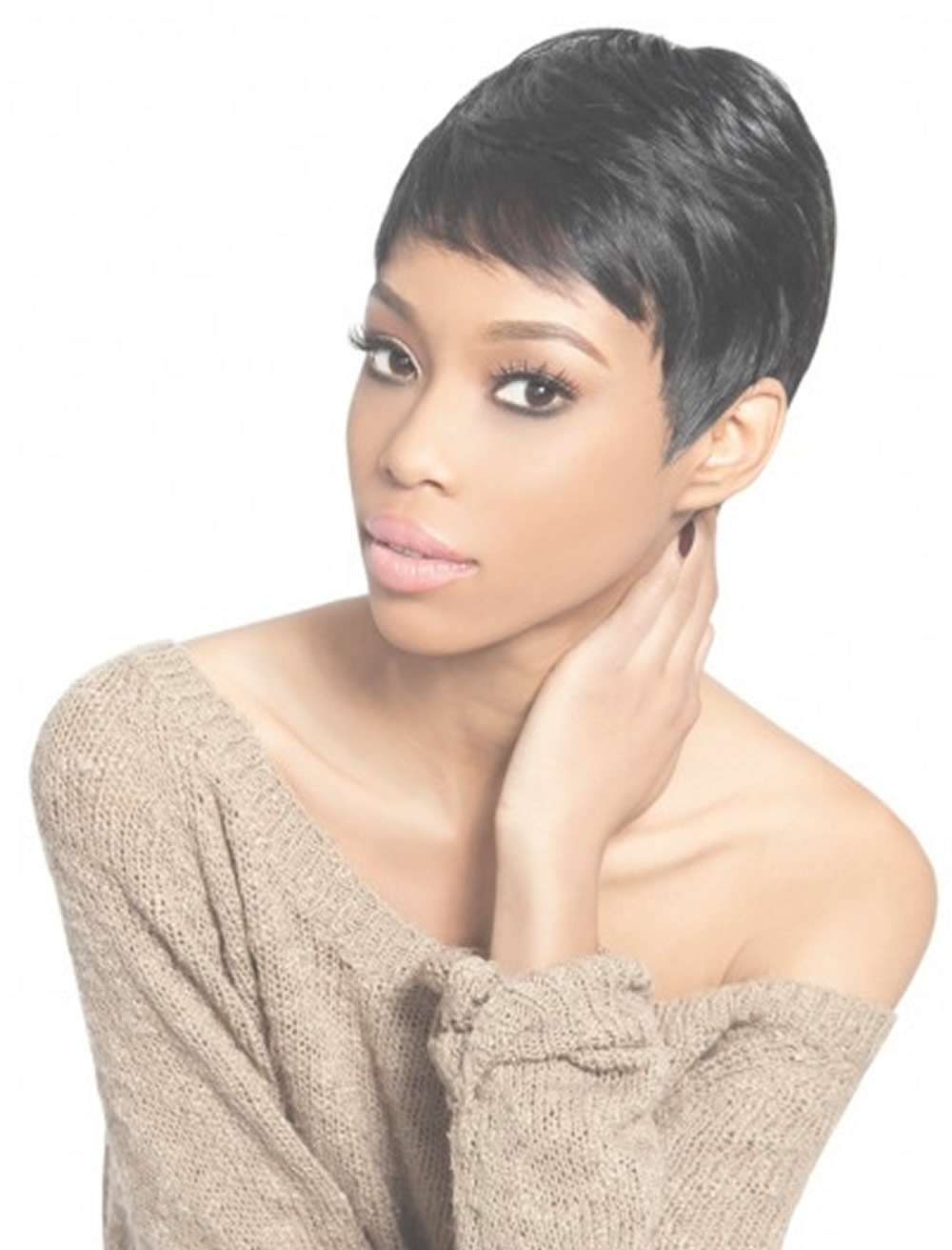 2018 Short Haircuts For Black Women – 57 Pixie Short Black Hair Ideas Intended For Most Popular Black Girl Pixie Hairstyles (View 7 of 15)