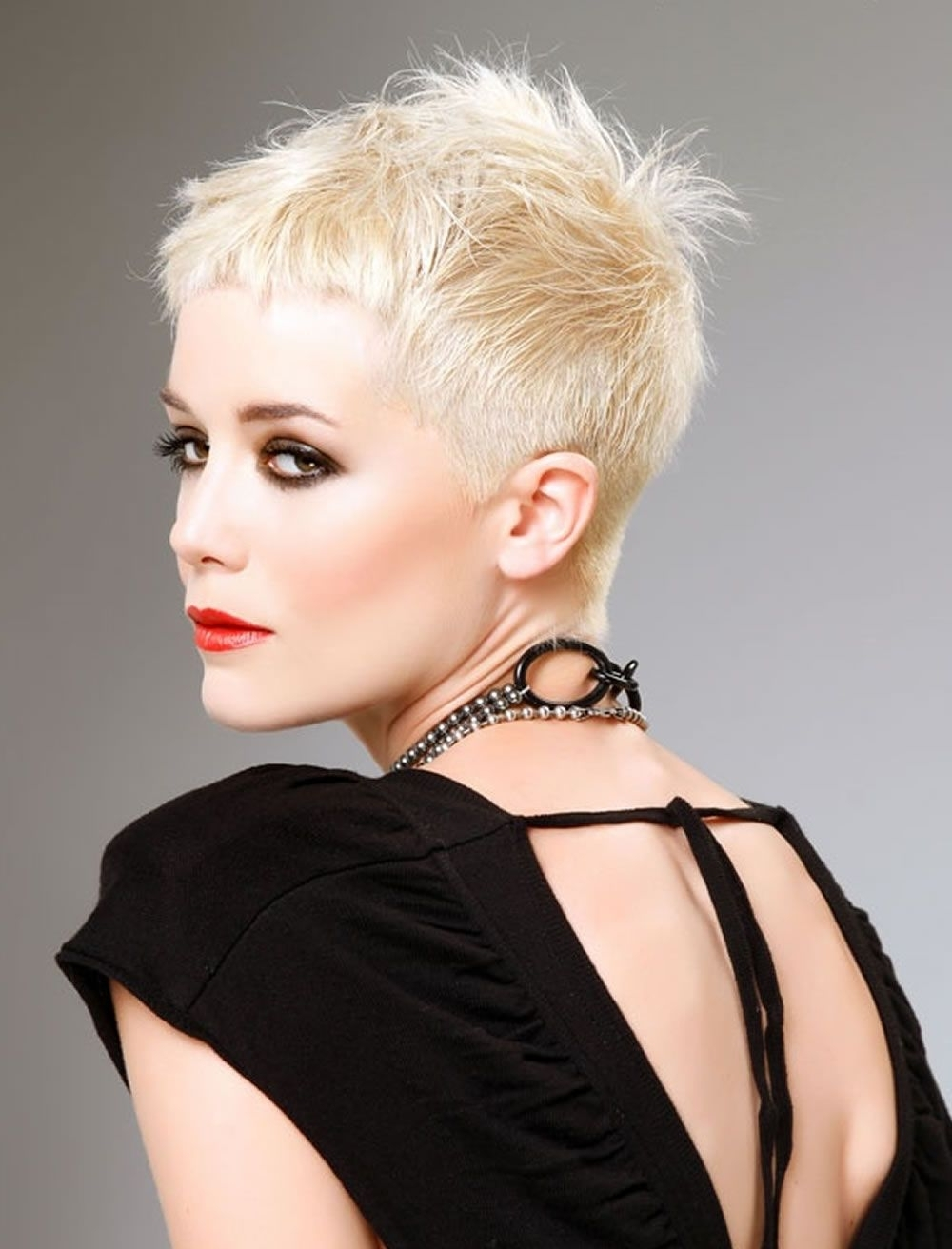 2018 Very Short Pixie Hairstyles & Haircuts Inspiration Throughout Most Current Short Blonde Pixie Hairstyles (View 4 of 15)
