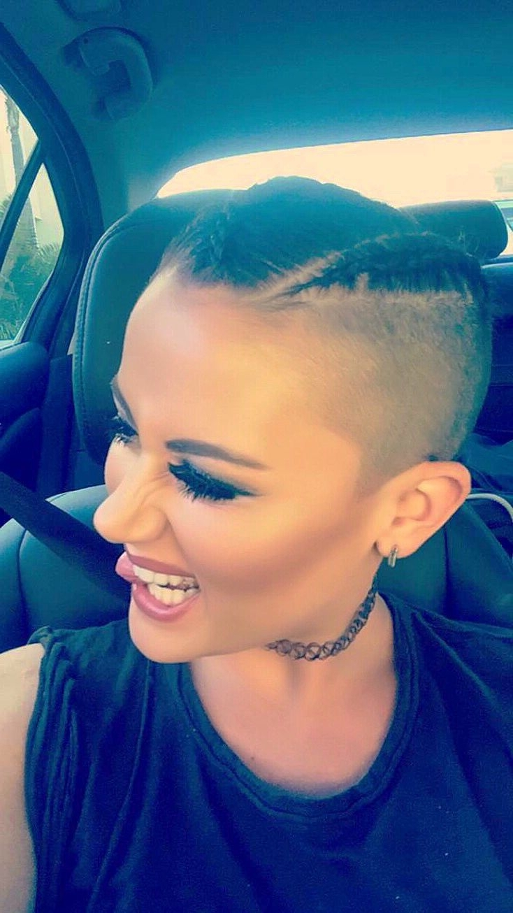 218 Best Shaved Sides And Back Images On Pinterest   Short With Regard To Current Pixie Hairstyles With Shaved Sides (View 13 of 15)