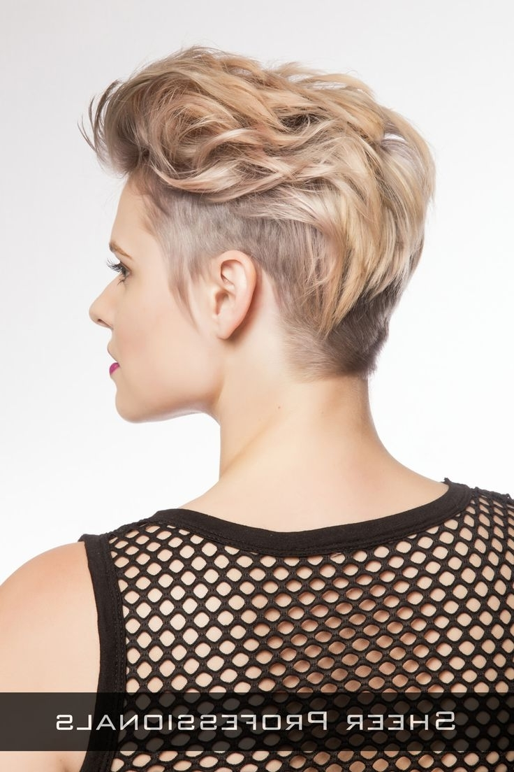 22 Best Funky Short Hair Cuts Images On Pinterest | Hair Cut Intended For Most Up To Date Pixie Hairstyles With Long On Top (View 4 of 15)