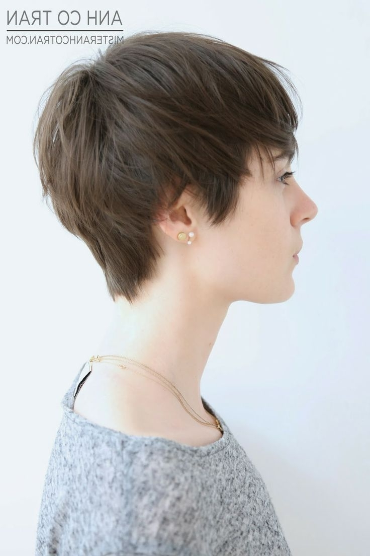 2018 Latest Hipster Pixie Hairstyles