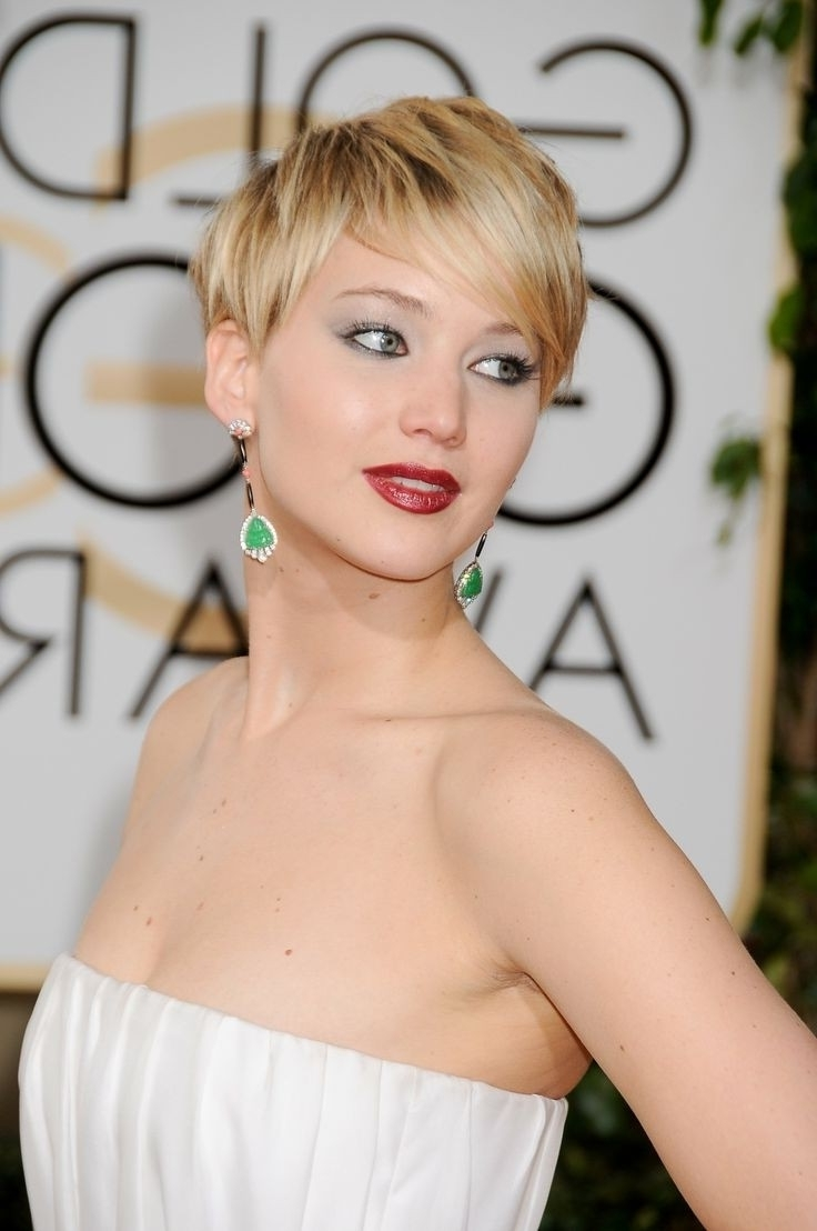 24 Beautiful Hairstyles For Thin Hair 2017 – Pretty Designs Throughout Latest Pixie Hairstyles Styles For Thin Hair (View 2 of 15)