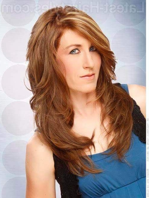 Top 15 of Shaggy Layered Hairstyles For Long Hair