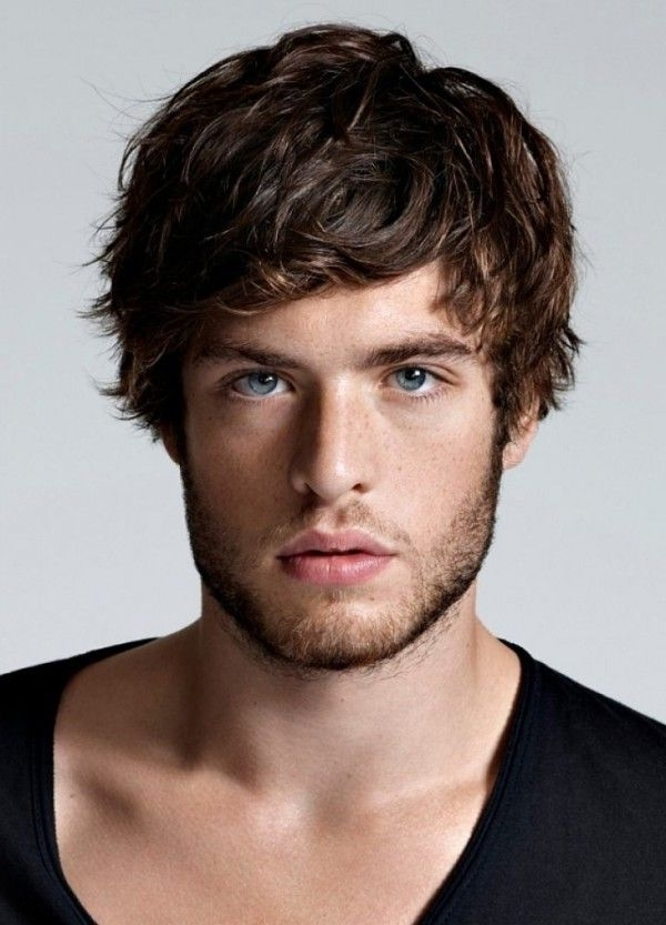 Featured Photo of Mens Shaggy Hairstyles Thick Hair