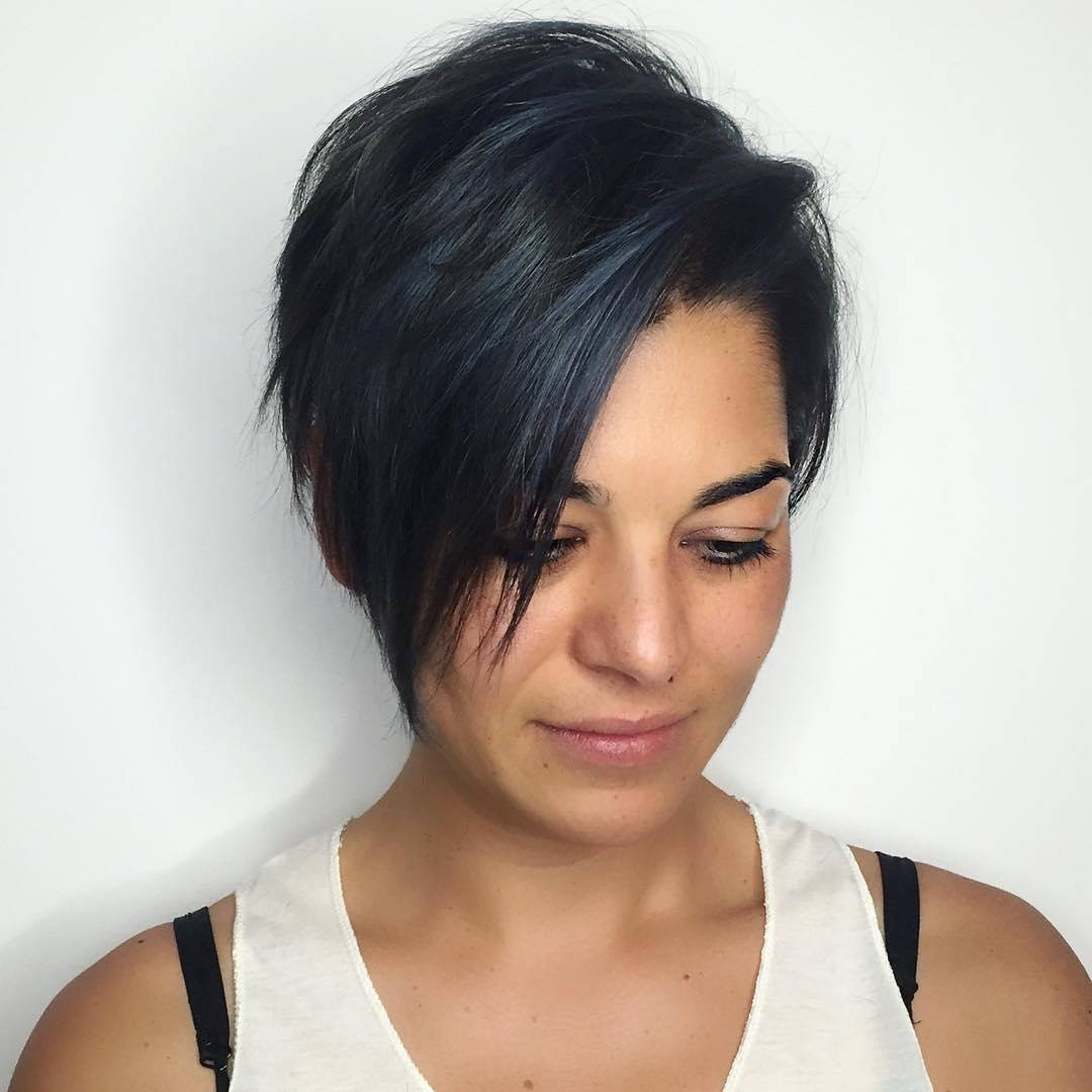 27 Hot Pixie Cuts To Copy In 2018   Hairstyle Guru In Most Up To Date Pixie Hairstyles For Dark Hair (View 12 of 15)