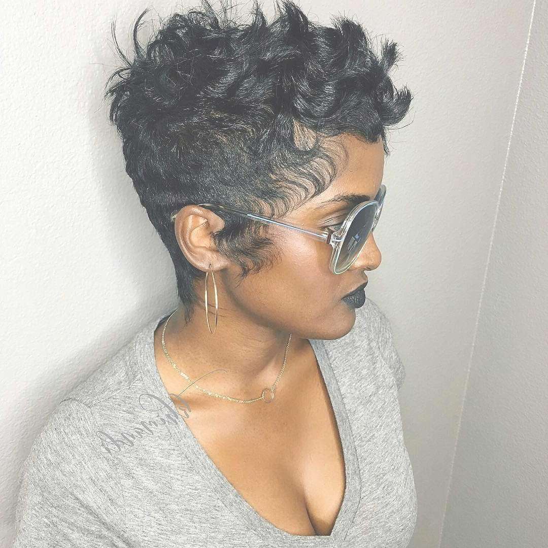 27 Hot Pixie Cuts To Copy In 2018 | Hairstyle Guru Intended For Most Up To Date Black Pixie Hairstyles (View 13 of 15)