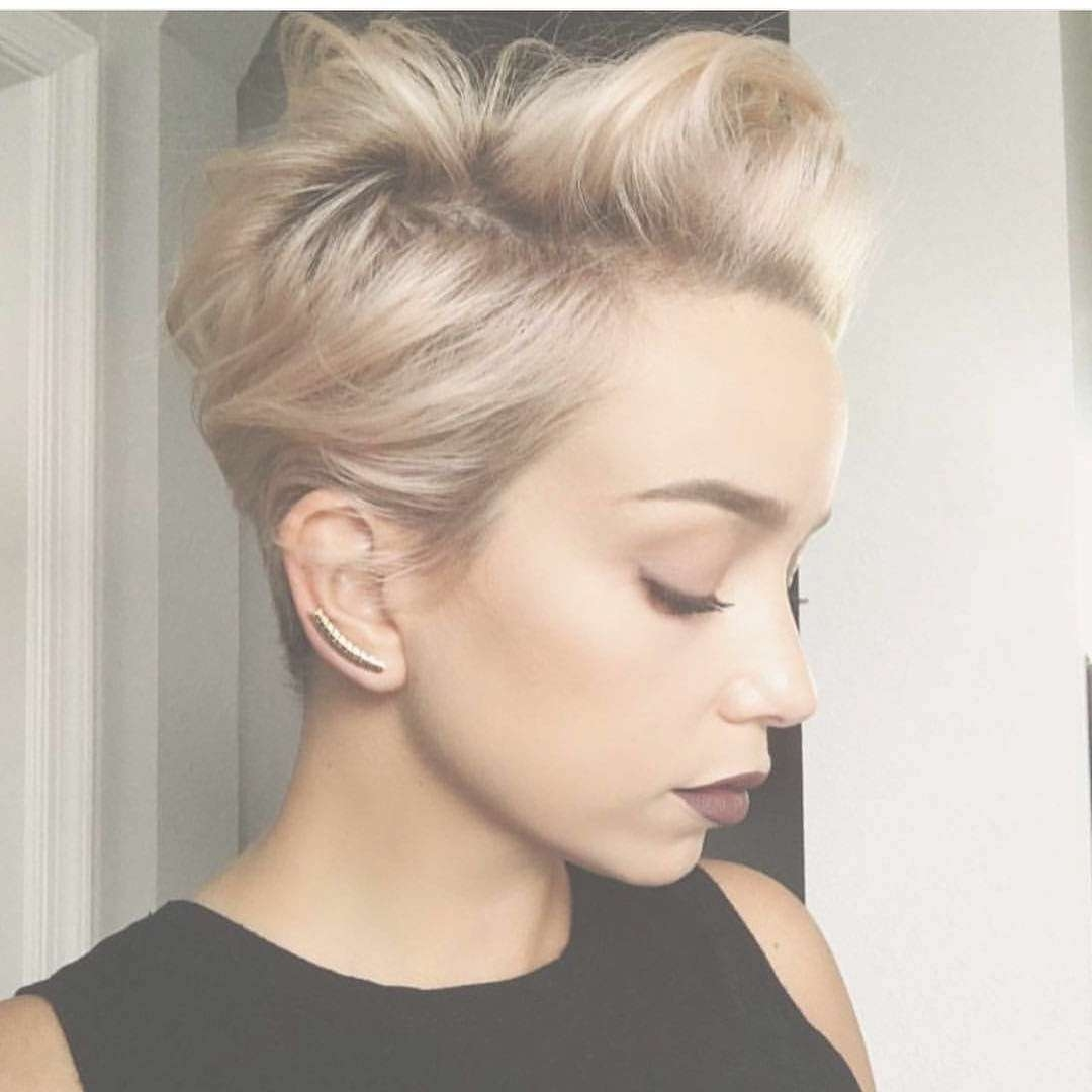 Best 15 Of Blonde Pixie Hairstyles