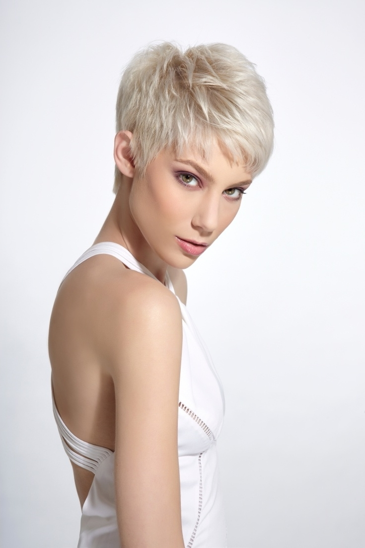 287 Best Hairstyles For Fine, Thin Hair Images On Pinterest | Hair With Regard To Most Current Pixie Hairstyles Styles For Thin Hair (View 9 of 15)