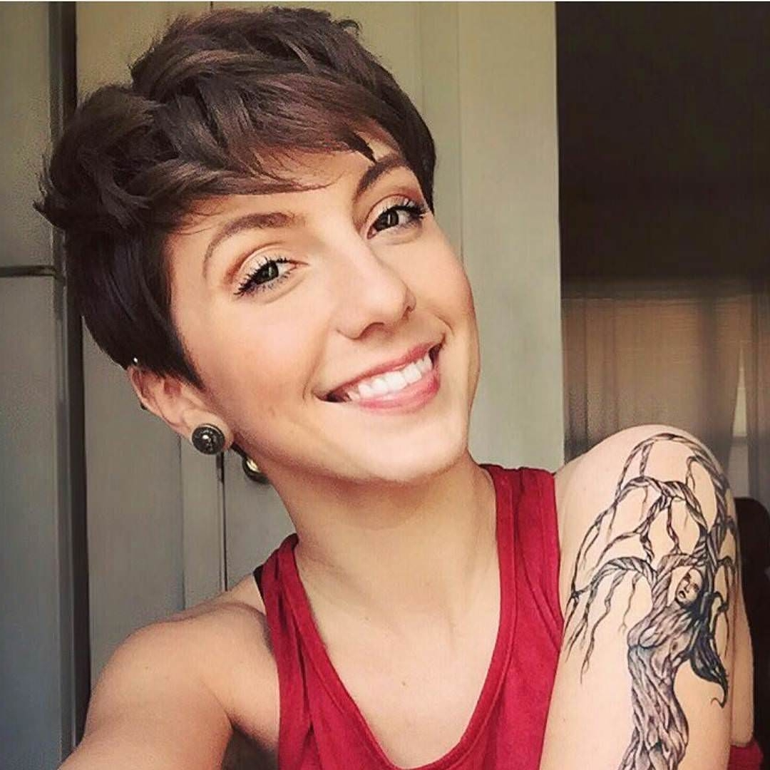 29+ Pixie Haircut Ideas, Designs | Hairstyles | Design Trends Inside Best And Newest Women Pixie Hairstyles (View 4 of 15)