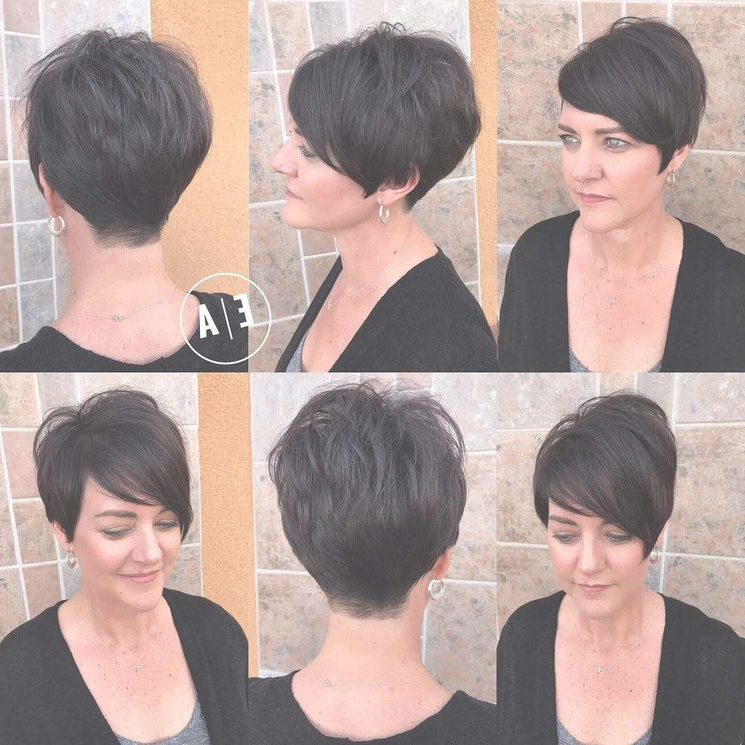 Image Gallery Of Pixie Hairstyles For Oval Face Shape View 4 Of 16