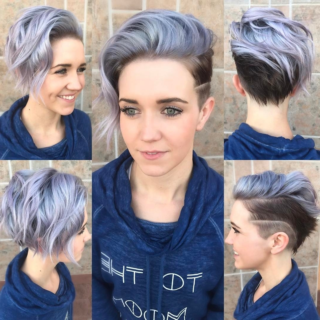 Explore Gallery Of Short Asymmetrical Pixie Hairstyles Showing 6 Of