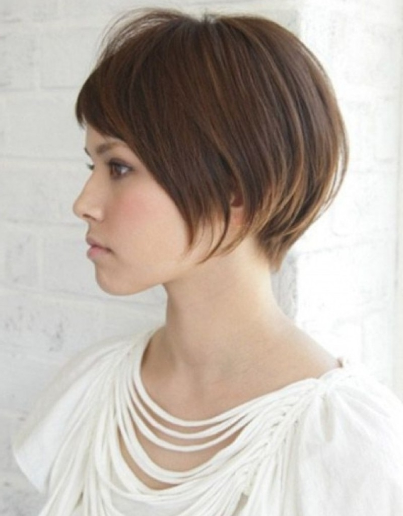 Showing Gallery Of Pixie Hairstyles For Long Face View 11 Of 15 Photos