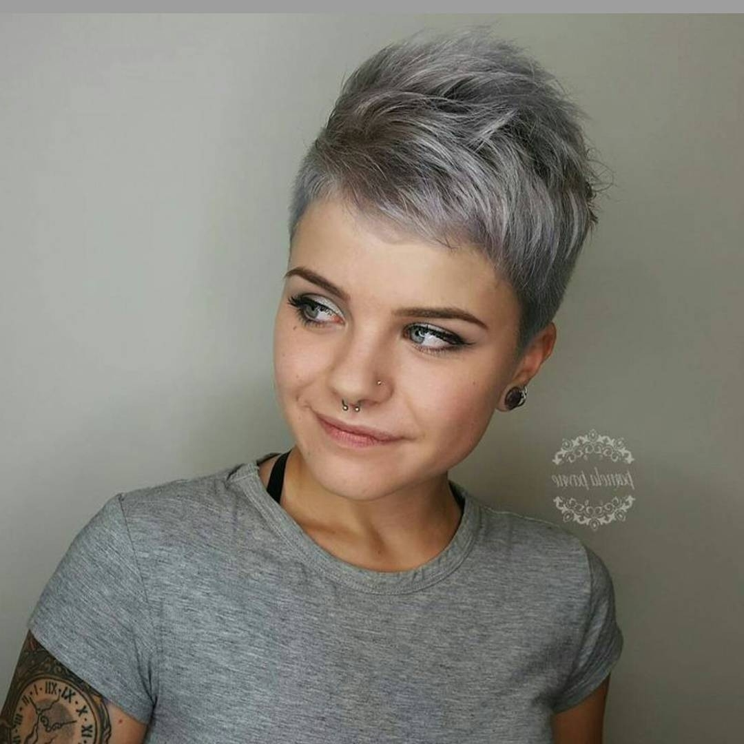 30 Hottest Pixie Haircuts 2018 – Classic To Edgy Pixie Hairstyles For Most Up To Date Short Edgy Pixie Hairstyles (View 7 of 15)